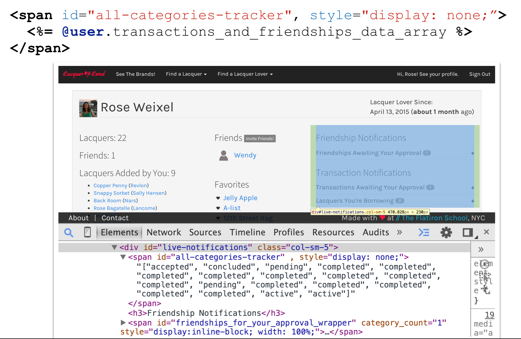 Live Updating DOM Elements With jQuery and Ajax - code life